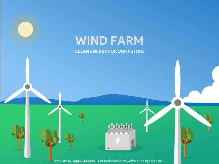 Wind Farm PowerPoint Template