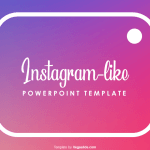 Instagram-like PowerPoint Template