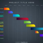 10-item Gantt Chart PowerPoint Template