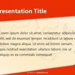 Indonesia Flag Theme PowerPoint Template