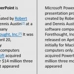 How to Copy from Wikipedia to PowerPoint Without Links